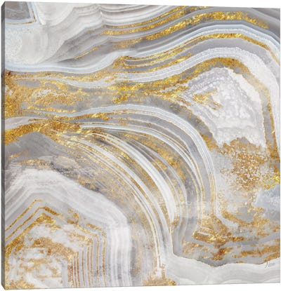 Agate Allure I Canvas Art Print