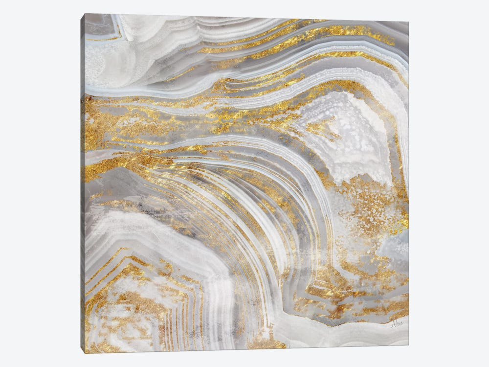 Agate Allure I by Nan 1-piece Canvas Art