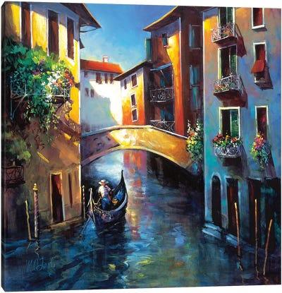 Daybreak in Venice Canvas Art Print