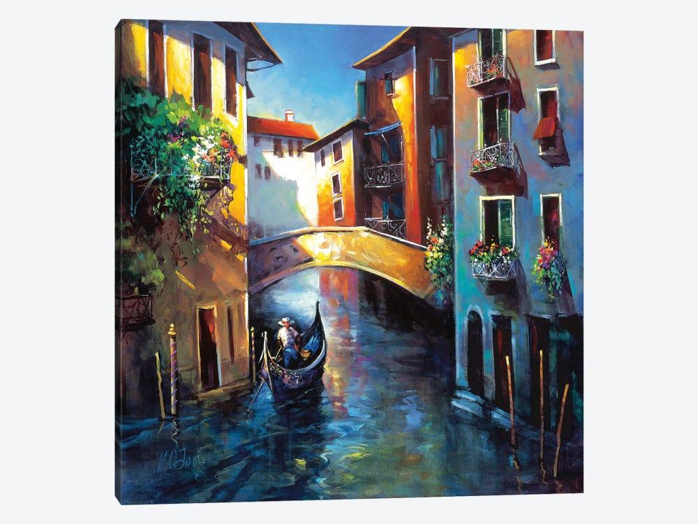 Daybreak in Venice by Nancy O'Toole 1-piece Canvas Print