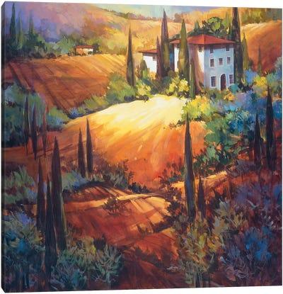 Morning Light Tuscany Canvas Art Print