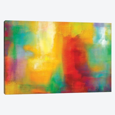 Color My World Canvas Print #NAR1} by Natalie Rhodes Canvas Wall Art