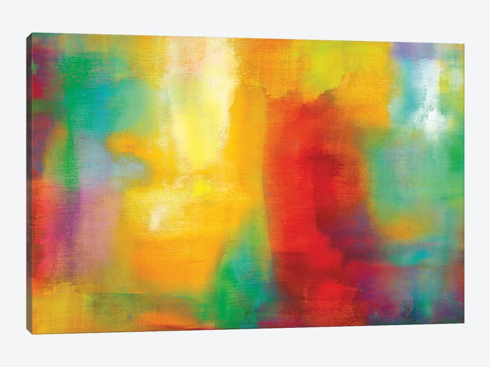 Color My World by Natalie Rhodes 1-piece Canvas Wall Art