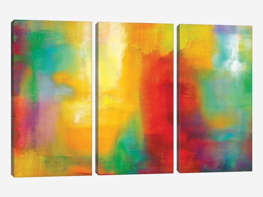 Color My World by Natalie Rhodes 3-piece Canvas Art