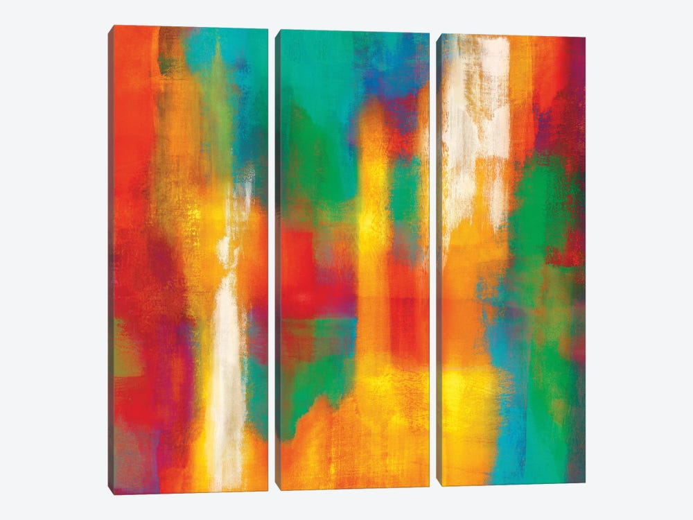 Lust For Life II by Natalie Rhodes 3-piece Canvas Wall Art