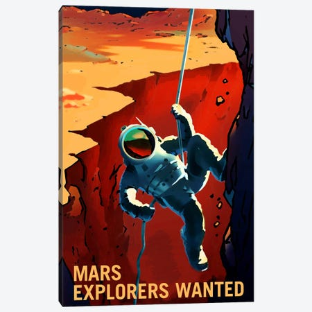 Explorers Wanted Canvas Print #NAS15} by NASA Canvas Art