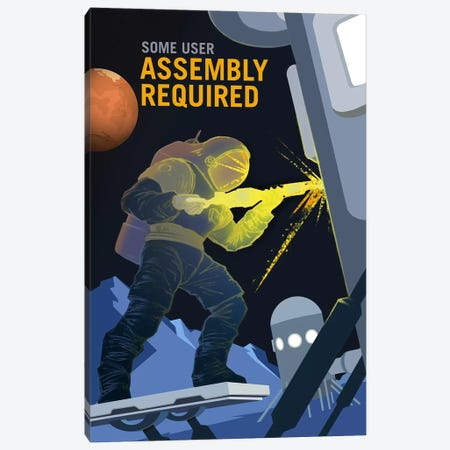 Some User Assembly Required Canvas Print #NAS17} by NASA Canvas Wall Art