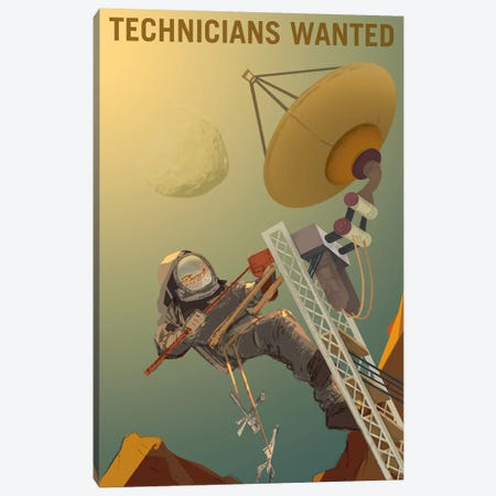 Technicians Wanted Canvas Print #NAS20} by NASA Canvas Art