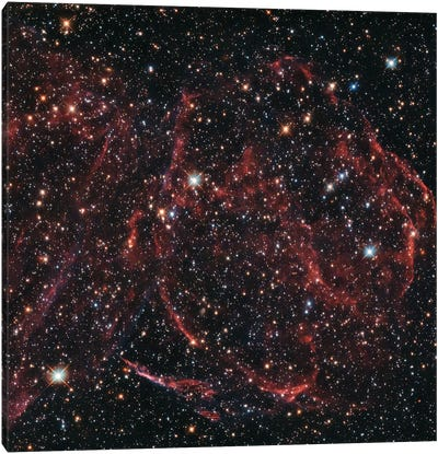 A Long-Dead Star (Remnants Of A Supernova), DEM L316A Canvas Art Print