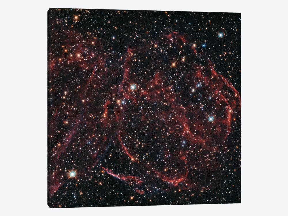 A Long-Dead Star (Remnants Of A Supernova), DEM L316A by NASA 1-piece Canvas Artwork