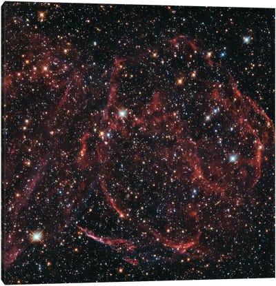 A Long-Dead Star (Remnants Of A Supernova), DEM L316A Canvas Art Print