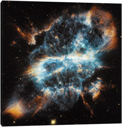 A Planetary Nebula Ornament, NGC 5189 Canvas Print #NAS25