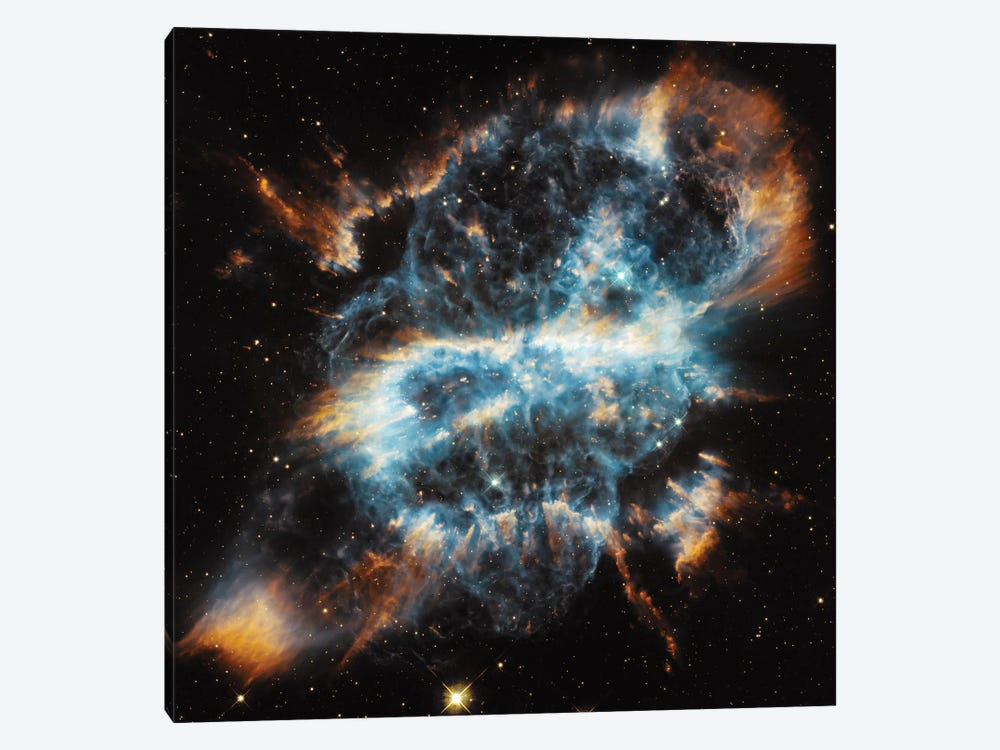 A Planetary Nebula Ornament, NGC 5189 by NASA 1-piece Art Print
