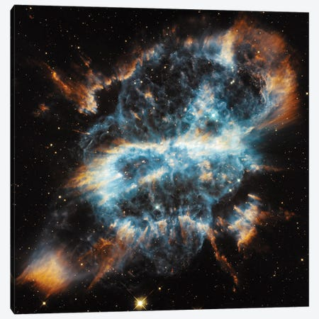 A Planetary Nebula Ornament, NGC 5189 Canvas Print #NAS25} by NASA Canvas Art Print
