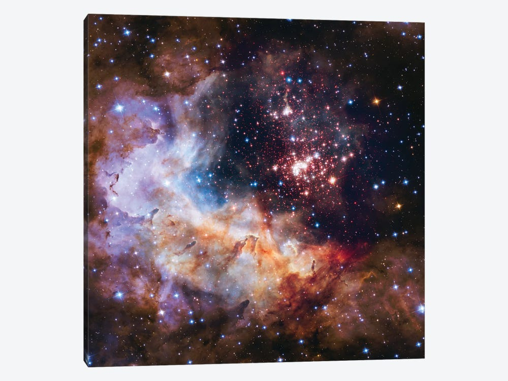 Celestial Fireworks, Westurland 2 (Hubble Space Telescope 25th Anniversary Image) by NASA 1-piece Art Print
