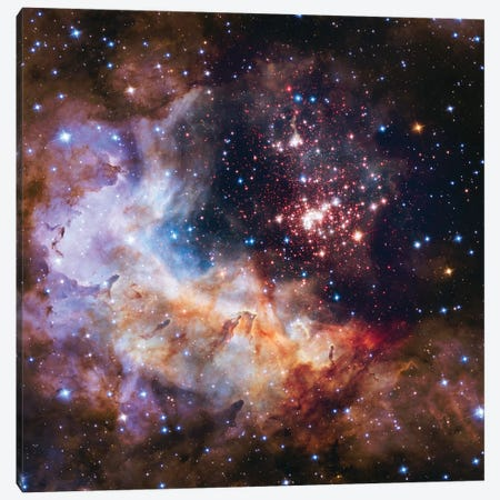 Celestial Fireworks, Westurland 2 (Hubble Space Telescope 25th Anniversary Image) Canvas Print #NAS30} by NASA Canvas Print