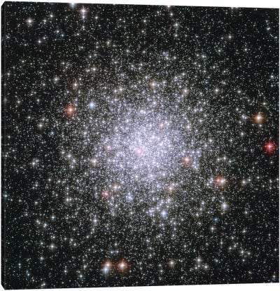 Cosmic Riches, Messier 69 Canvas Art Print