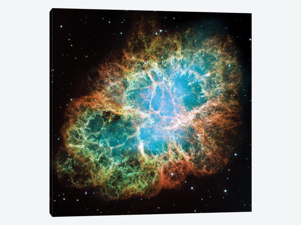 Extreme Detail, Crab Nebula, Messier 1 by NASA 1-piece Art Print