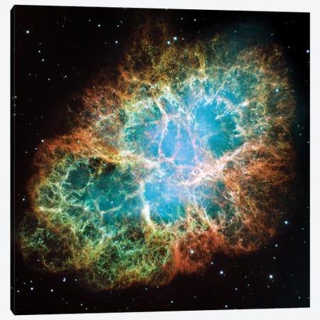 Extreme Detail, Crab Nebula, Messier 1 Canvas Print #NAS36} by NASA Canvas Art