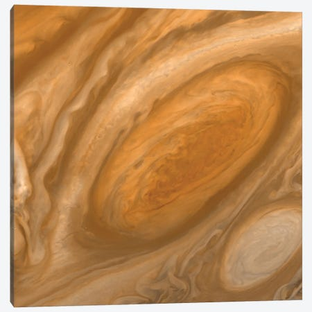 Jupiter's Great Red Spot Canvas Print #NAS38} by NASA Art Print