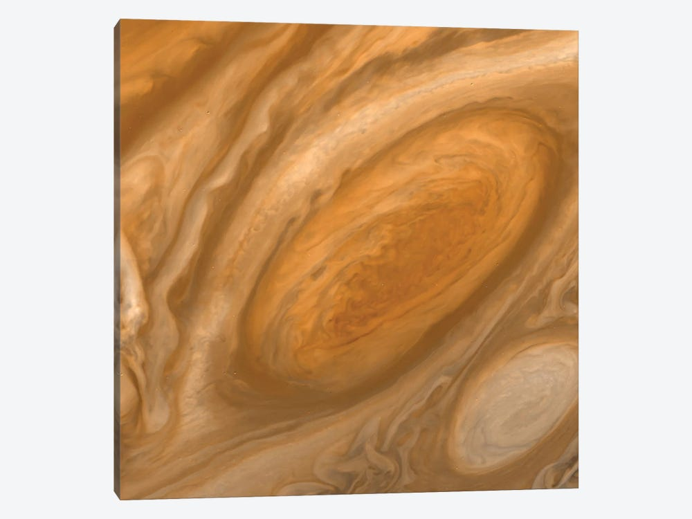 Jupiter's Great Red Spot 1-piece Canvas Art Print