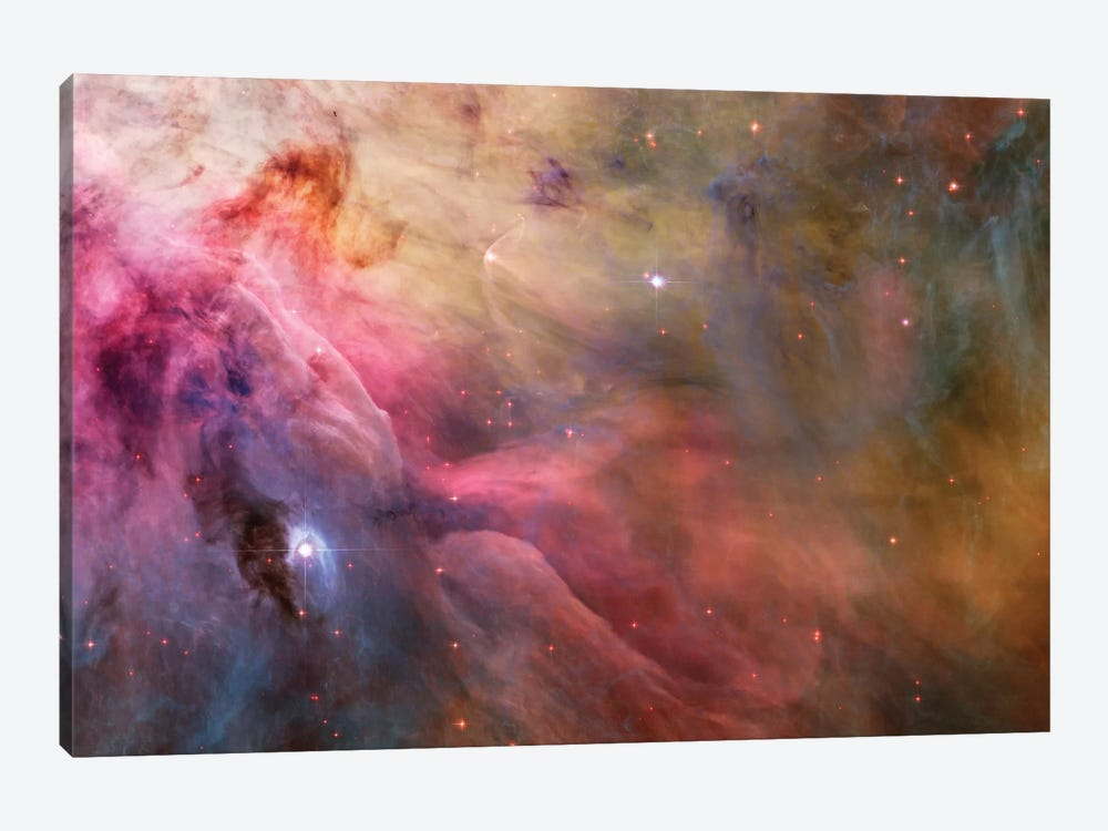 LL Orionis Interacting With the Orion Nebula Flow by NASA 1-piece Canvas Artwork