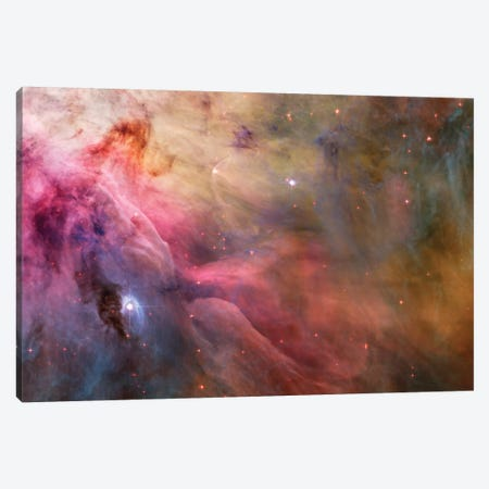 LL Orionis Interacting With the Orion Nebula Flow Canvas Print #NAS39} by NASA Art Print