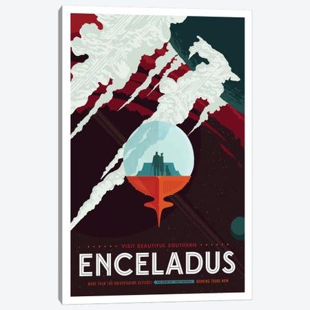 Enceladus Canvas Print #NAS3} by NASA Art Print