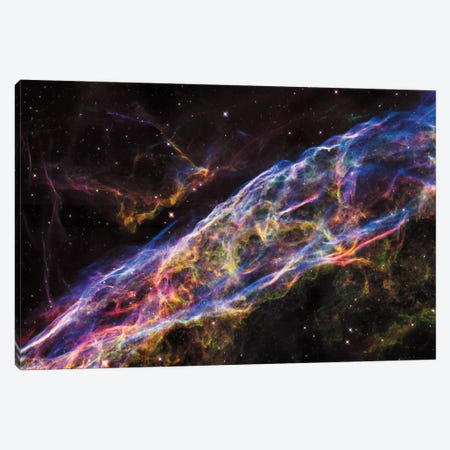 NGC 6960 (Witch's Broom Nebula), Veil Nebula, Cygnus Loop Canvas Print #NAS43} by NASA Canvas Artwork