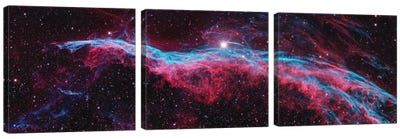 NGC 6960 (Witch's Broom), Western Veil Of The Veil Nebula Canvas Art Print