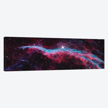 NGC 6960 (Witch's Broom), Western Veil Of The Veil Nebula Canvas Print #NAS44} by NASA Canvas Art Print