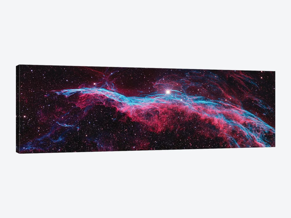NGC 6960 (Witch's Broom), Western Veil Of The Veil Nebula by NASA 1-piece Canvas Art