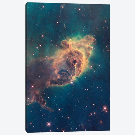 Pillar Of Gas, Carina Nebula Canvas Print #NAS46} by NASA Canvas Art Print