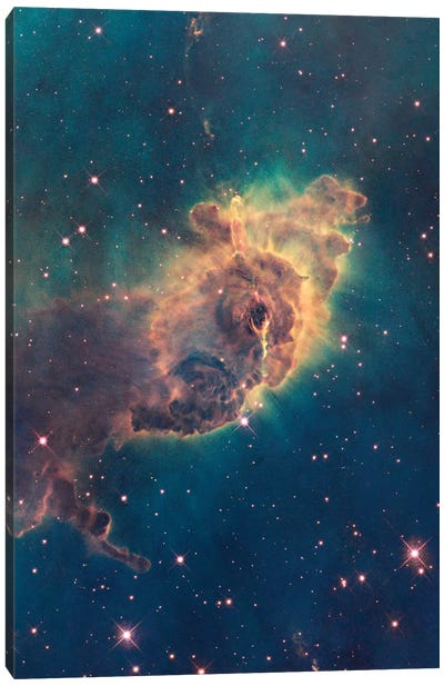 Pillar Of Gas, Carina Nebula Canvas Art Print