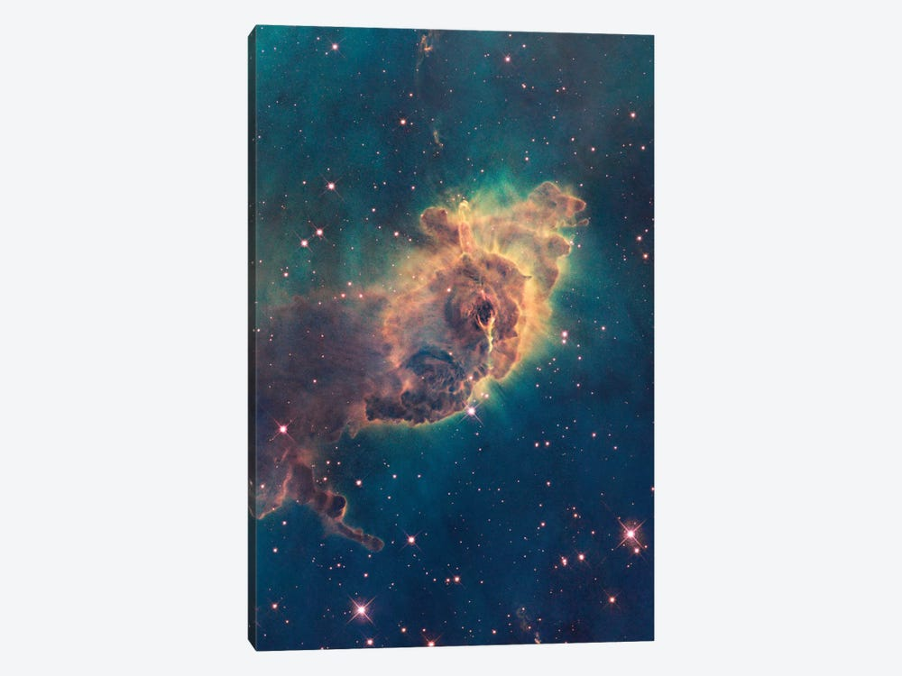 Pillar Of Gas, Carina Nebula by NASA 1-piece Canvas Artwork