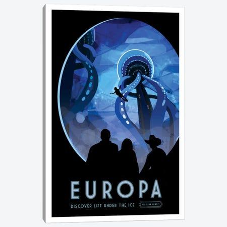 Europa Canvas Print #NAS4} by NASA Canvas Art