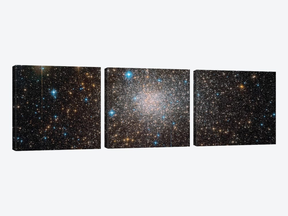 Terzan 5 by NASA 3-piece Canvas Art Print