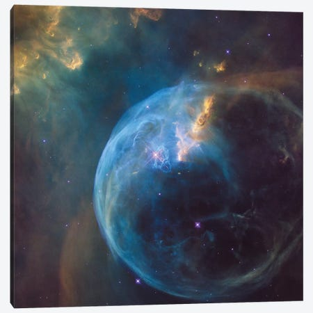 The Bubble Nebula (NGC 7635) Canvas Print #NAS51} by NASA Canvas Art Print