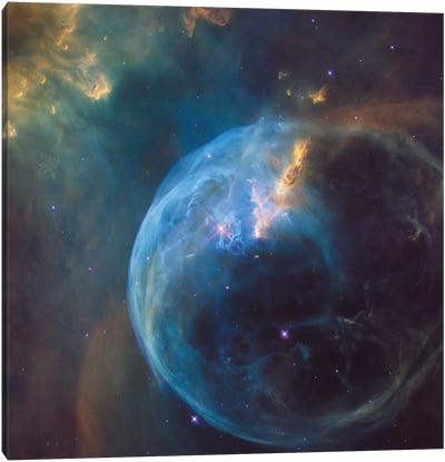 The Bubble Nebula (NGC 7635) Canvas Art Print