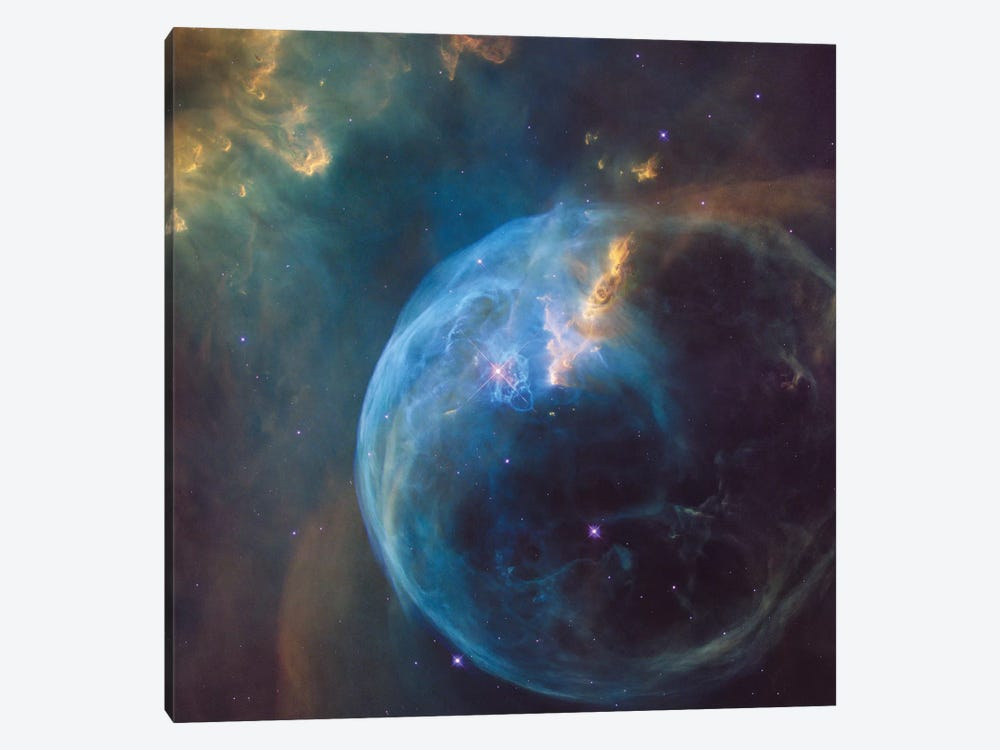 The Bubble Nebula (NGC 7635) 1-piece Canvas Artwork