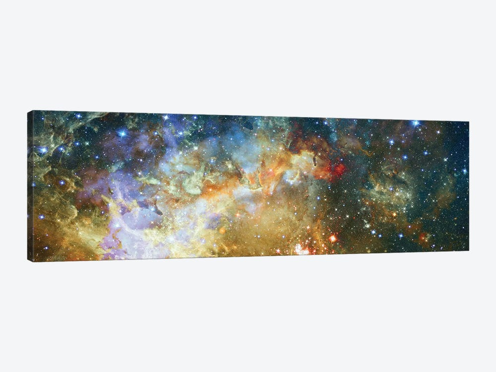 Crescent Burst by NASA 1-piece Canvas Print