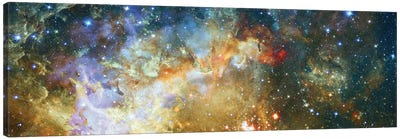 Crescent Burst Canvas Art Print