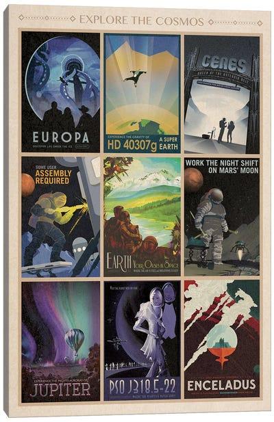 Explore The Cosmos Canvas Art Print