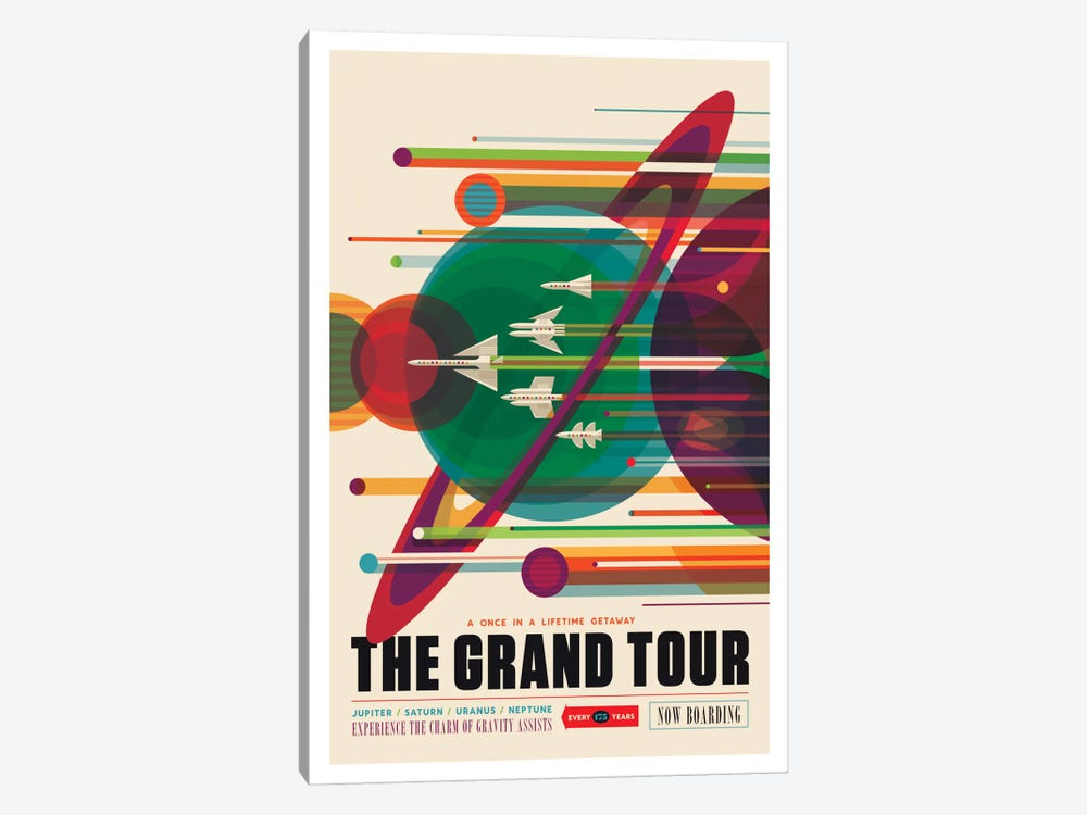 The Grand Tour by NASA 1-piece Canvas Art Print