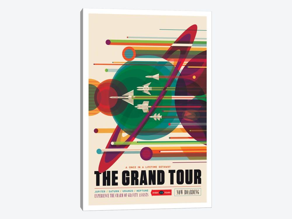 The Grand Tour by NASA 1-piece Canvas Art Print