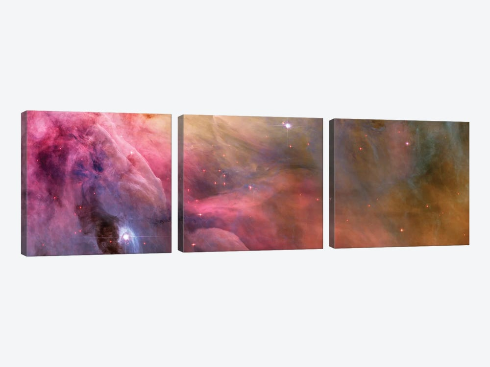 Flow Of Nebula by NASA 3-piece Art Print