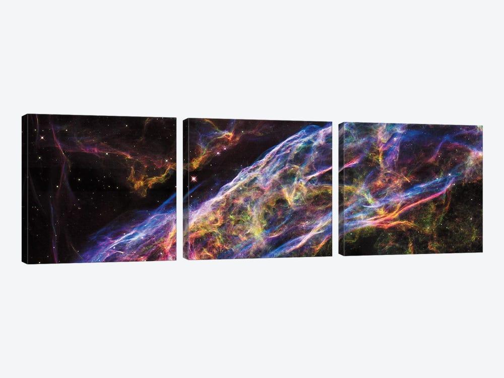 Prismatic Vapor by NASA 3-piece Canvas Art Print