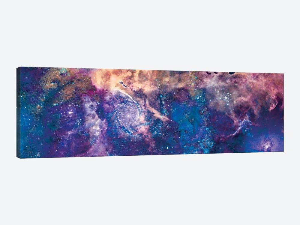 Royal Swirl by NASA 1-piece Canvas Wall Art