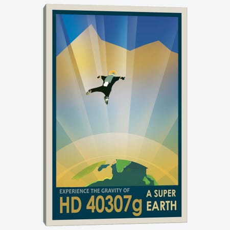 HD 40307g Canvas Print #NAS6} by NASA Canvas Art