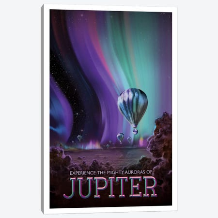 Jupiter Canvas Print #NAS7} by NASA Canvas Wall Art